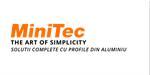 MiniTec Solutions - Sisteme de profile - Ghidaje liniare - Echipamente automatizări industriale