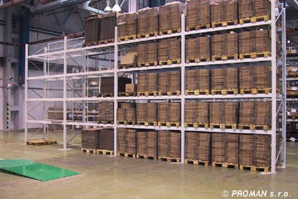 Rafturi industriale pentru paleti