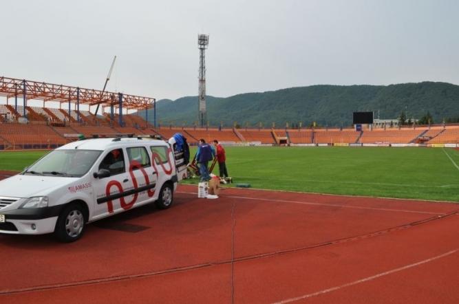 Încălzire gazon Stadion Ceahlăul Piatra Neamț