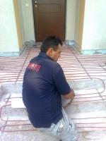 Montaj sistem de încălzire în pardoseală