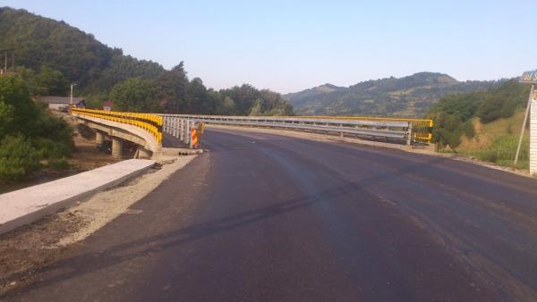 Reparatii pod peste Raul Somesul Mare