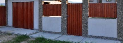Amenajari exterioare Holze