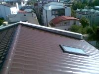 Țiglă metalică pentru blocuri