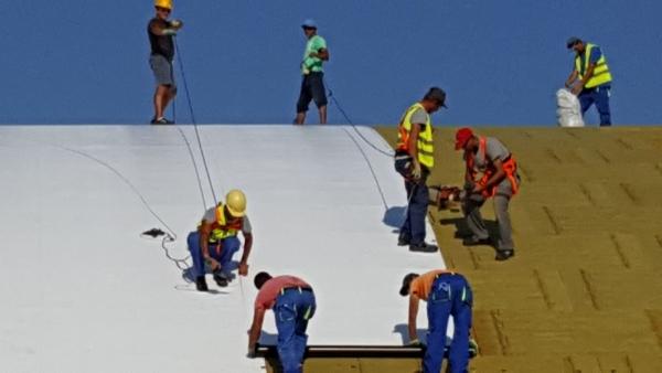 Montaj acoperiș cu toate tipurile de membrană