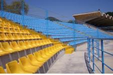 Scaune din fibra pentru stadion