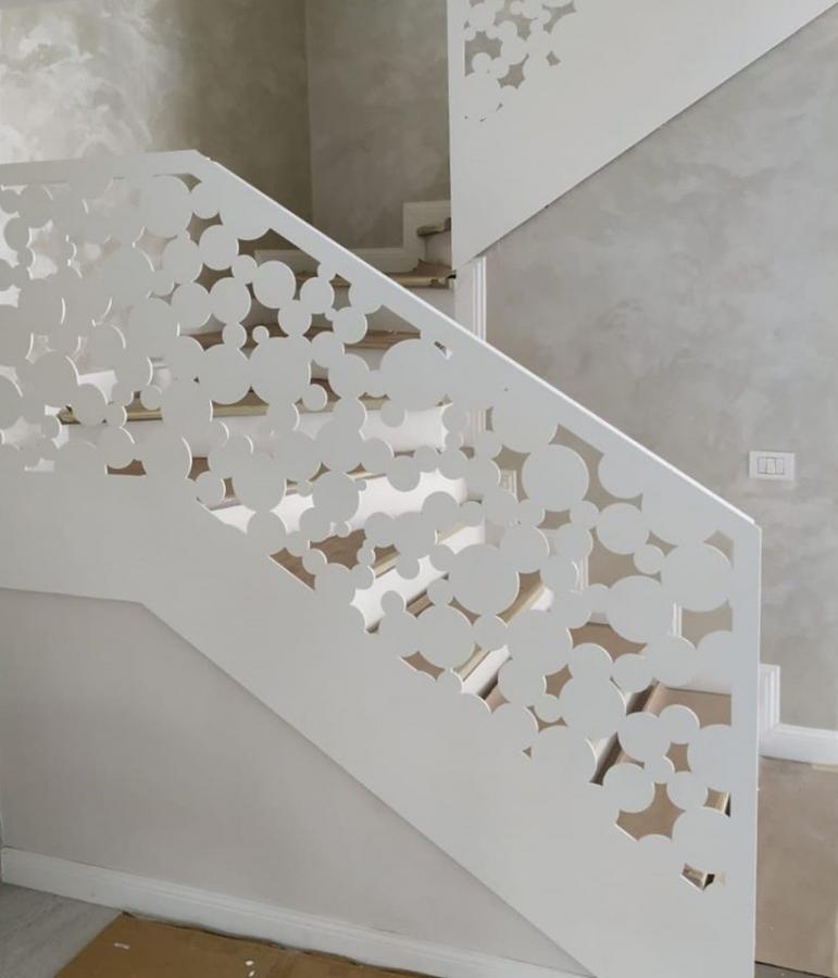 Balustrada cu design special